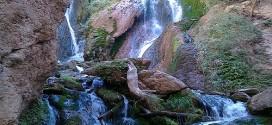 """برنامه صعود به آبشارهای """" تنگ آبی"""""""